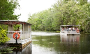 Ultimate Swamp Adventures: Weekday or Weekend Swamp Tour for One, Two, or Four from Ultimate Swamp Adventures (Up to 50% Off)