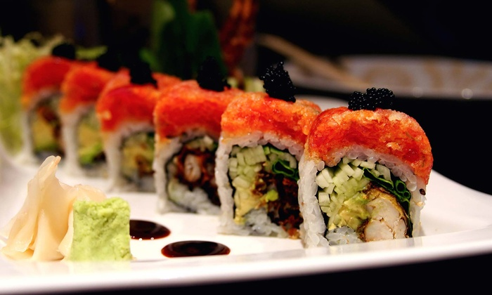 Japon Bistro - West Central: Sushi and Sake for Two or Four at Japon Bistro (Up to 55% Off)