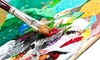 Wine and Canvas - Multiple Locations: Painting Class for One or Two Hosted by Area Restaurants from Wine and Canvas (Up to 54% Off)