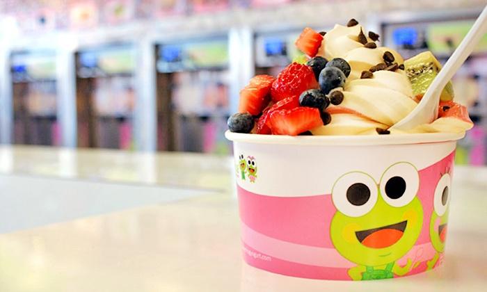 Sweet Frog Frozen Yogurt - Jacksonville Beach: $12 for Four Groupons, Each Good for $5 at Sweet Frog Frozen Yogurt ($20 Total Value)