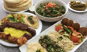 Fattoush Mediterranean Grill: Mediterranean Food at Fattoush Mediterranean Grill (Up to 40% Off). Two Options Available.