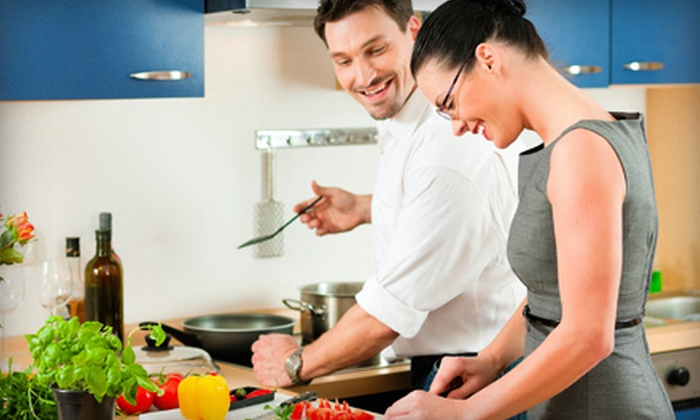 Healthy Palate - Napa / Sonoma: In-Home Healthy-Cooking Class and Wine for Two, Four, or Six from Healthy Palate (Up to 72% Off)
