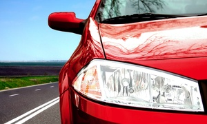 R Team Auto Body & Collision: Oil Change with Tire Rotation, or Whole-Body Premium Paint Job at R Team Auto Body & Collision (Up to 56% Off)
