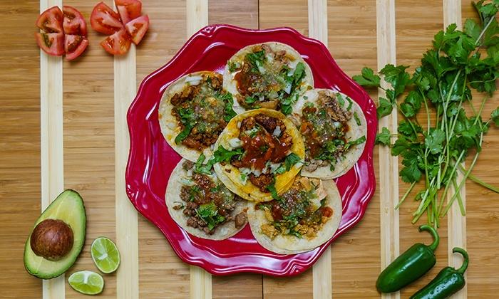 Taco Fix - Taco Fix: 6 or 12 Tacos with Drinks at Taco Fix (45% Off)