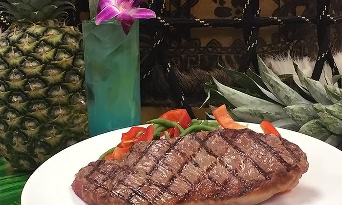 Kahunaville Island Restaurant - Las Vegas: Tropical Cocktails or Cuisine at Kahunaville Island Restaurant (Up to 49% Off)