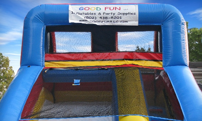 Good Fun Inflatables & Party Supplies - Louisville: Bounce-House or Inflatable-Water-Slide Rental from Good Fun Inflatables & Party Supplies (Up to 51% Off)