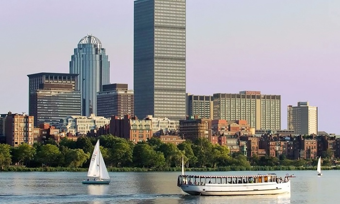 Charles Riverboat Company - Cambridge: Charles River Sightseeing Tour for One or Two from Charles Riverboat Company (Up to 42% Off)
