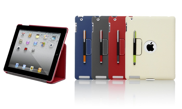 Targus Slim Case with Stylus Holder for iPad 2, 3, and 4: Targus Slim Case with Stylus Holder for iPad 2, 3, and 4 in Blue, Gray, Red, or White. Free Returns.
