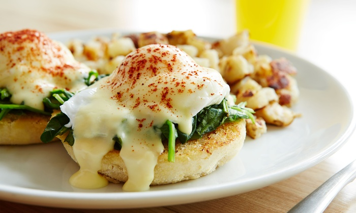 Diner By-The-Sea - Lauderdale-by-the-Sea: American Breakfast or Lunch for Two at Diner-By-The-Sea (Up to 40% Off)
