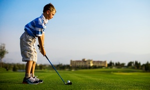 Tiny Tees Golf: $59 for Four Weeks of Introductory Golf Lessons for Kids at Tiny Tees Golf ($129 Value)
