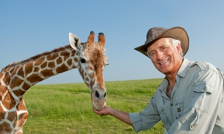Jack Hanna's Into the Wild Live! on February 28, at 3 p.m.