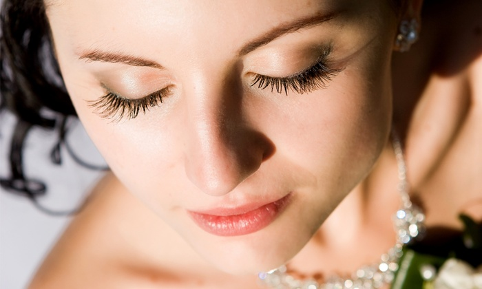 You're Beautiful - Hasbrouck House: Full Set of Eyelash Extensions at You're Beautiful (50% Off)