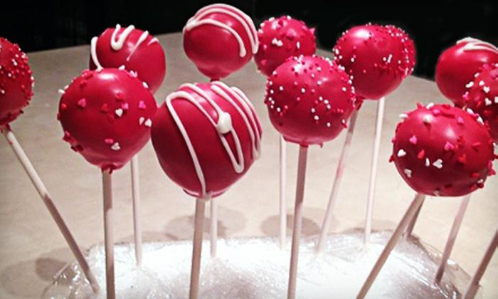 Sweet Spot Cake Pops - San Antonio: $18 for One Dozen Cake Pops with Delivery from Sweet Spot Cake Pops ($36 Value)