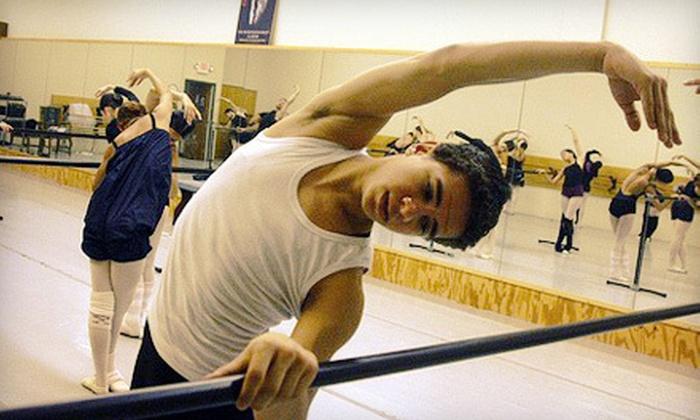 Metropolitan Ballet - Minnetonka - Hopkins: Three or Five Drop-In Barre or Ballet Classes at Metropolitan Ballet (Up to 61% Off)