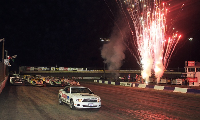 Tri City Speedway - Granite City: Friday-Night Stock-Car Races for One or Two at Tri-City Speedway on August 15 or 22 (Half Off)