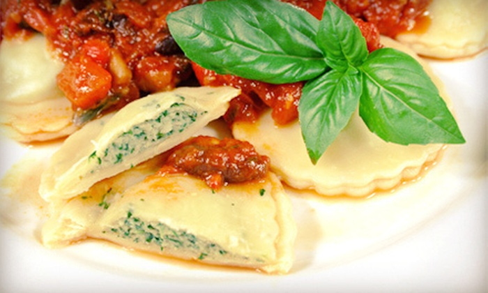 The Continental Fitchburg - Tower Hill Park: Italian Fare and Drinks for Dinner or Lunch at The Continental Fitchburg (Up to 53% Off)
