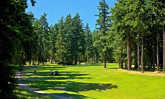 Lake Spanaway Golf Course - Spanaway: 18-Hole Round of Golf for One, Two, or Four at Lake Spanaway Golf Course (50% Off)