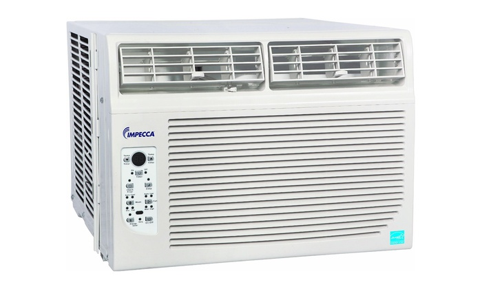 Impecca window air conditioners groupon goods for 12000 btu window air conditioner home depot