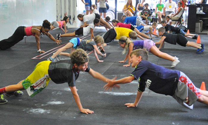 CrossFit San Ramon - San Ramon: Four or Eight Kids' After-School CrossFit Classes at CrossFit San Ramon (Up to 65% Off)