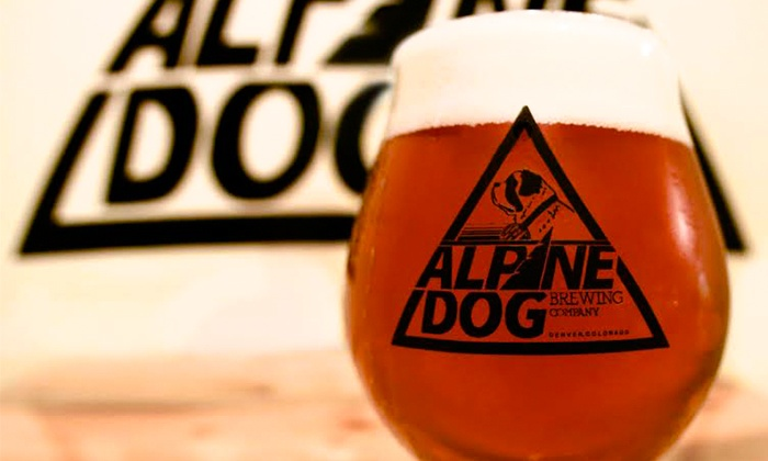 Alpine Dog Brewing Company - Denver, CO: $11.50 for $19 Worth of Locally Crafted Beer at Alpine Dog Brewing Company