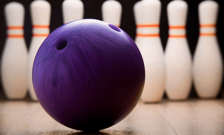 Bowling and Pizza for Two, Four or Six at Eastway Bowl (Up to 44% Off)