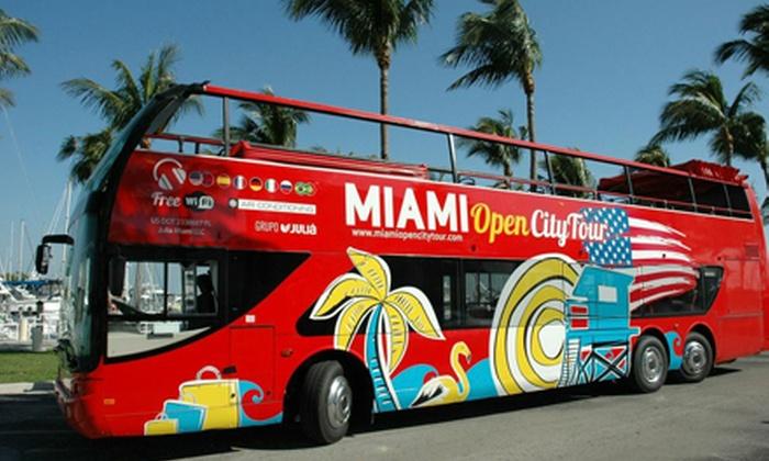 hop-on, hop-off miami bus tour - grayline miami (old tax