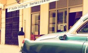 PABLO GALLEGO: Menú para 2 o 4 con atún rojo de almadraba y codillo braseado, postre y botella de vino desde 59,90 € en Pablo Gallego