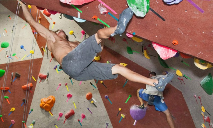 Santa Barbara Rock Gym - Lower State: On the Rocks Package for Two or 30-Day Passfor One at Santa Barbara Rock Gym (Up to 56%Off)