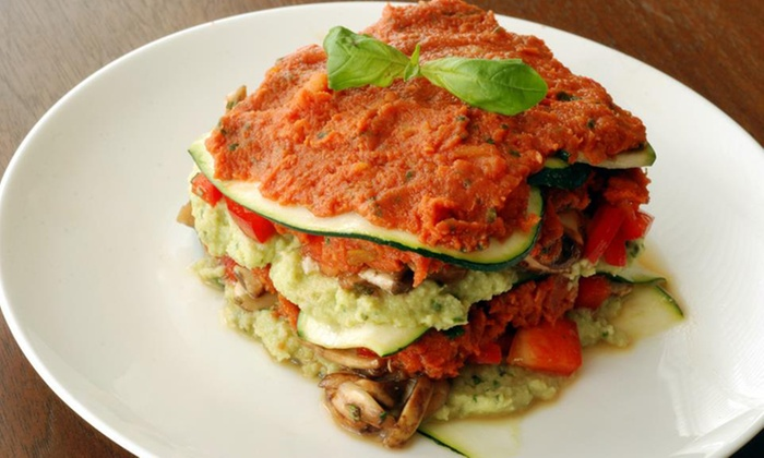 VeganAroma - Douglas: $20 for $40 Worth of Raw and Cooked Vegan Cuisine at VeganAroma