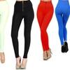 6-Pack of Women's Nylon High-Waist Zipper Seamless Leggings