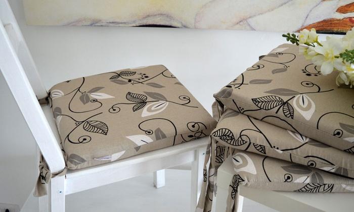 Set 4 cuscini per sedie disponibili in varie fantasie a 18,98 </p>                     </div>                     <div id=