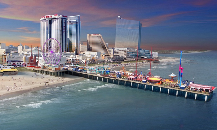 Steel Pier - Steel Pier Amusements: $30 for 80 Amusement-Park-Ride Tickets at Steel Pier ($60 Value)