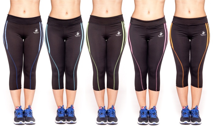 Women's Workout Capri Pants | Groupon Goods