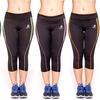 Beverly Hills Polo Club Women's Active Workout Capri Pants