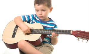 Westwood Carnaval Music School: Four or Eight Private Guitar Lessons at Westwood Carnaval Music School (Up to 52% Off)