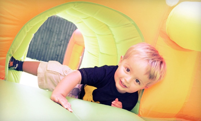 Pump It Up - North Scottsdale: $18 for Five Pop-In Playtimes at Pump It Up ($37.50 Value)