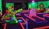 GlowGolf - COS - Glowgolf Mini Golf- Tampa: Glow-in-the-Dark Mini Golf and Optional Laser Maze at Glowgolf (Up to 60% Off). Four Options Available.