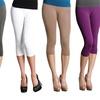 5-Pack of Seamless Capri Leggings