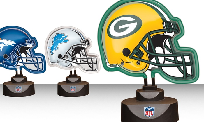 NFL Helmet Neon Lamp: NFL Helmet Neon Lamp. Multiple Designs Available. Free Returns.