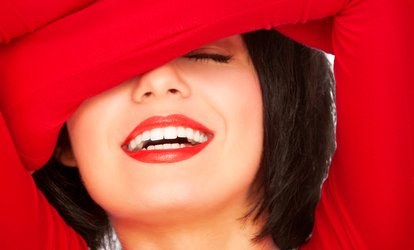 image for One or Three 20-Minute Laser <strong>Teeth-Whitening</strong> Treatments (Up to 51% Off)