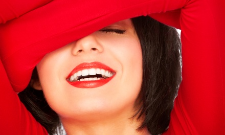 One or Three 20-Minute Laser Teeth-Whitening Treatments (Up to 52% Off)