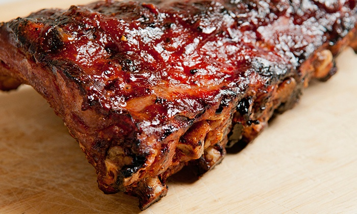 Arlene Williams BBQ - Mayfair: Barbecue Ribs, Pulled Pork, or Wings at Arlene Williams BBQ (Up to 54% Off). Five Options Available.