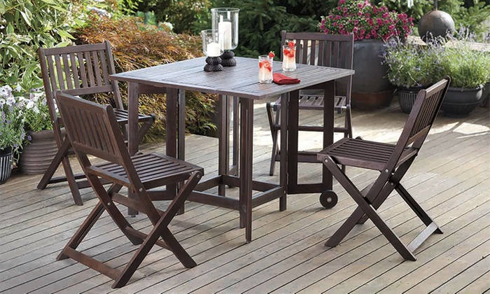 Up To 50 Off On Folding Table Amp Chairs Groupon Goods