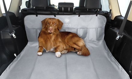 AKC 5-Pocket Water-Resistant Car-Seat Pet Cover
