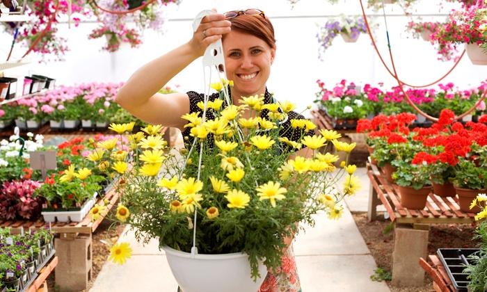 West Side Nursery - Murray: $15 for Flowers, Plants, Shrubs, and Trees at West Side Nursery in Murray ($30 Value)