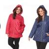 Women's Plus Size Puffer Coat