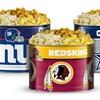 NFL Gourmet Popcorn Tins