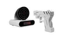 GROUPON: Gun and Target Recordable Alarm Clock Gun and Target Recordable Alarm Clock