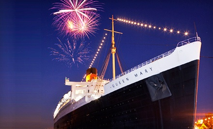 "First-Class Passport for One Adult or Child, Including Self-Guided Audio Tour and Shows on ""The Queen Mary"" (Half Off)"