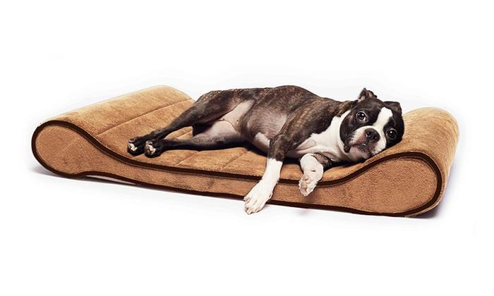Sage Memory-Foam Orthopedic Pet Lounger